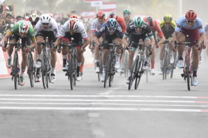 Viviani first of a tight quartet