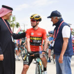 مرحباً (Marhaban!) from Stage 7 of the UAE Tour