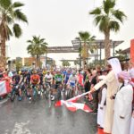 مرحباً (Marhaban!) from Stage 6 of the UAE Tour