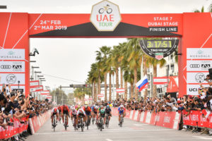 Understanding the UAE Tour: Flat Stages, Sprinters and the Points Competition