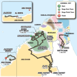 2020 UAE Tour – Route changes