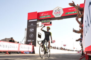 Adam Yates solos to victory on Jebel Hafeet
