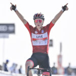 Tadej Pogačar wins Stage 3 of the UAE Tour and increases his lead in the GC
