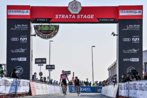Tadej Pogačar dominates again on Jebel Hafeet