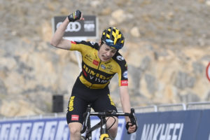 Jonas Vingegaard wins Stage 5, of the UAE Tour Tadej Pogačar retains the Red Jersey