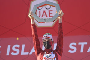 Tadej Pogačar wins the third edition of the UAE Tour,  Caleb Ewan wins Stage 7, the Yas Island Stage